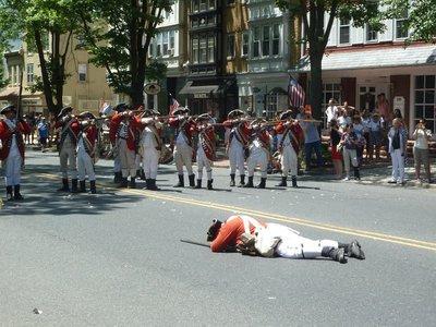 The British Loyalists take aim...