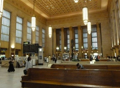 The waiting room at Philadelphia's 30th Street Station