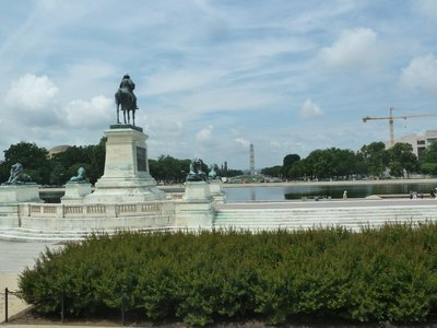 The view from the Capitol down the National Mall towards the Washington Monument
