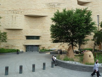 The American Indian Museum on Independence Avenue
