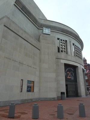 The US Holocaust Memorial Museum on 14th Street