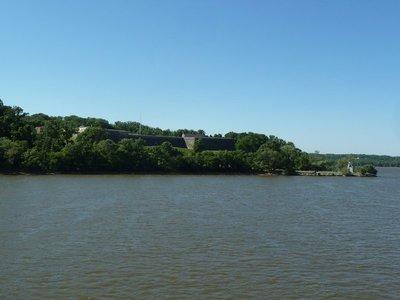 Fort Washington on the north bank of the Potomac River