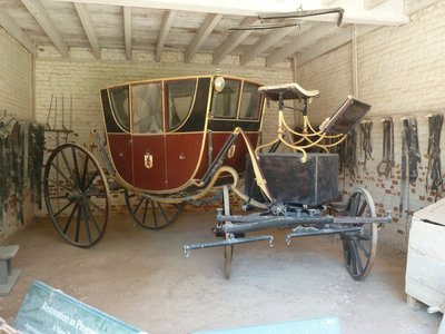 The Washington's coach in the Coach House