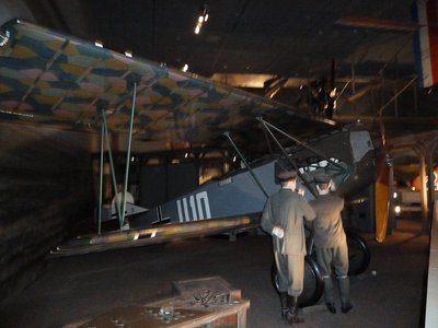German Fokker D.VII fighter from WWI