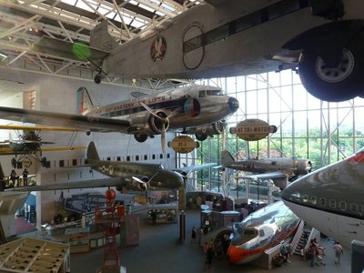 Commercial aircraft in the 'America by Air' gallery