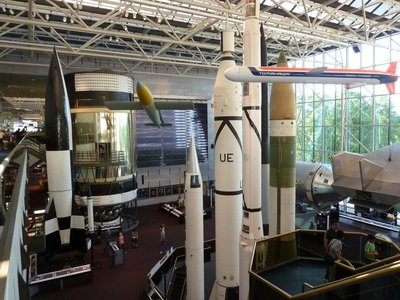 The Space Race Gallery at the National Air and Space Museum