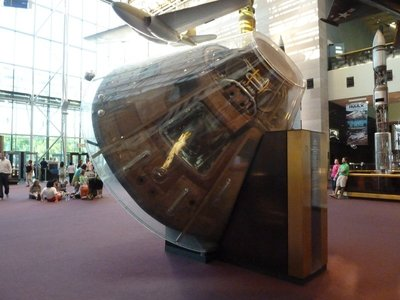 The Apollo 11 Command Module (1969)