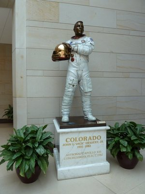 Jack Swigert (1931-1982) from Colorado's Statue in Emancipation Hall