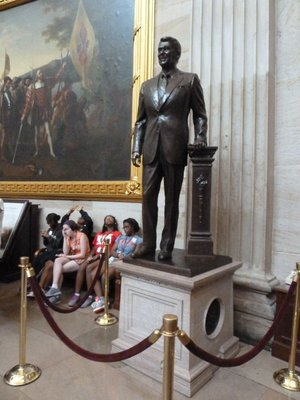 Ronald Reagan's Statue in National Statuary Hall