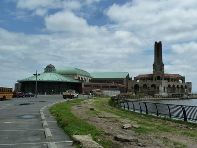 The Philadelphia Toboggan Company Carousel, Casino and Old Heating Plant at Asbury Park