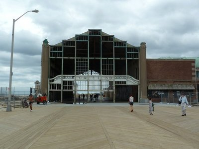 The derelict casino at Asbury Park