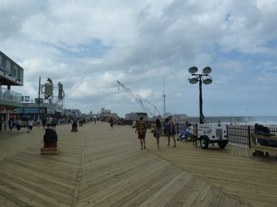 The broadwalk at Seaside Heights