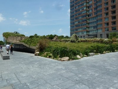 The Irish Hunger Memorial near North Cape, Battery Park