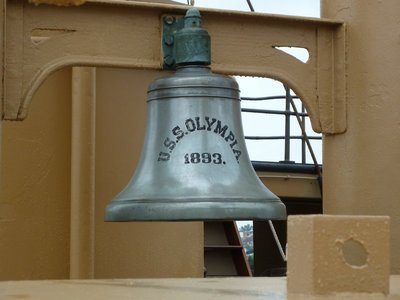 The USS Olympia's ship's bell