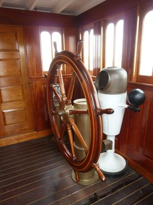 Inside the USS Olympia's Wheelhouse