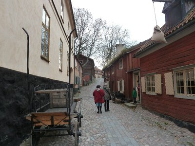 The Town Quarter in Skansen