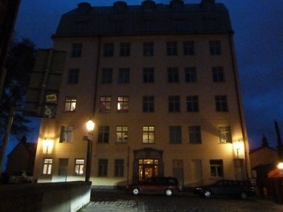 Lisabeth Salander's fictional apartment block from 'The Girl with the Dragon Tattoo'