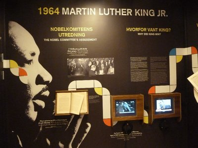 Detailed documentation for each  winner's nomination are kept secret for 30 years before being released, 30 years ago in 1964 the Nobel Peace Prize was Martin Luther King, Jr.