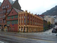 The Hanseatic Museum by Bergen's Vagen Harbour