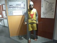 12th Century soldier from when the Bergenhaus Fortress was first built
