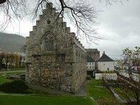 13th century Haakon's Hall in Bergenhus Festning (Bergen Castle)