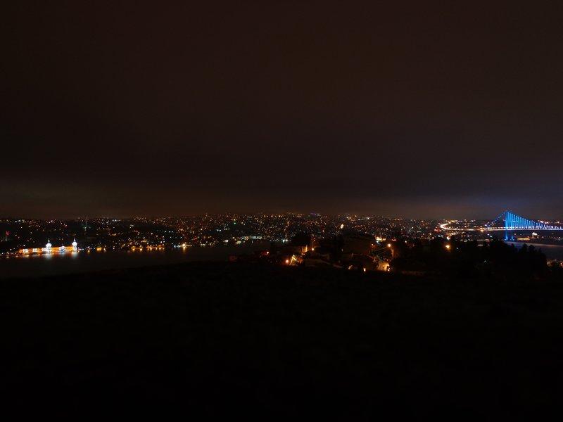 Last look at the Istanbul skyline