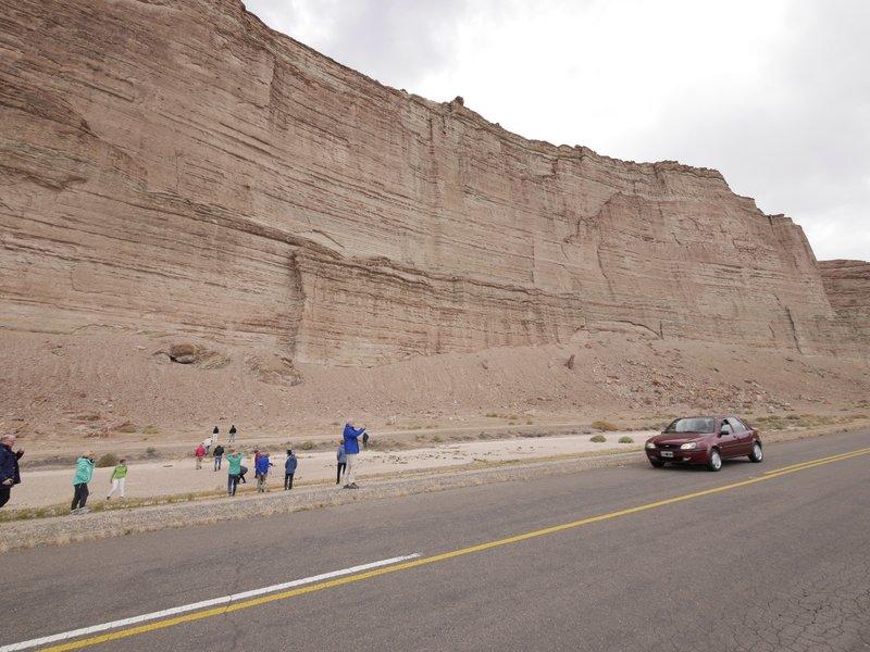 Route 25 naar Esquel