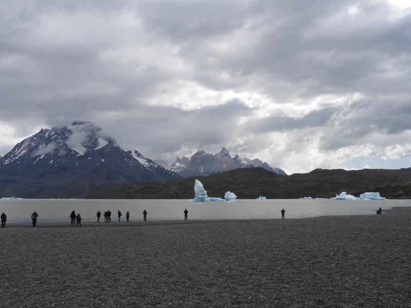 Gray Glacier, Chili, Torres del Paine