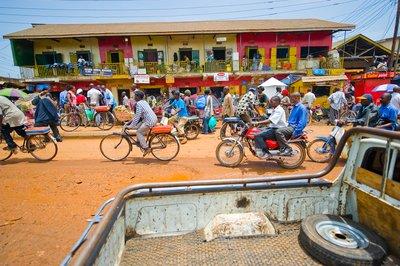 Streets of Kampala