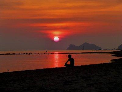 Sunset in Koh Phangan - wow