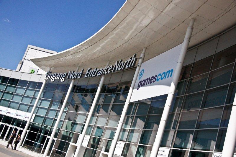 Cologne Trade Fair North Entrance (Gamescom)
