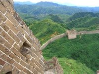The Great wall of China..