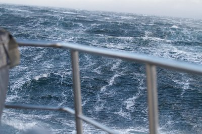 Heavy weather in the Beagle Channel