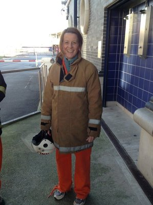 Claire the firefighter