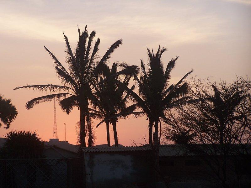Mancora at dusk