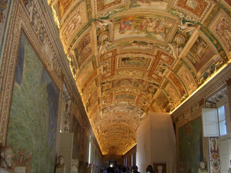 Ceiling of the Map Room, Vatican Museum