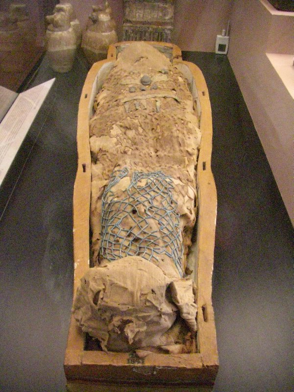 A Mummy from the Egyptian Collection, Vatican Museum