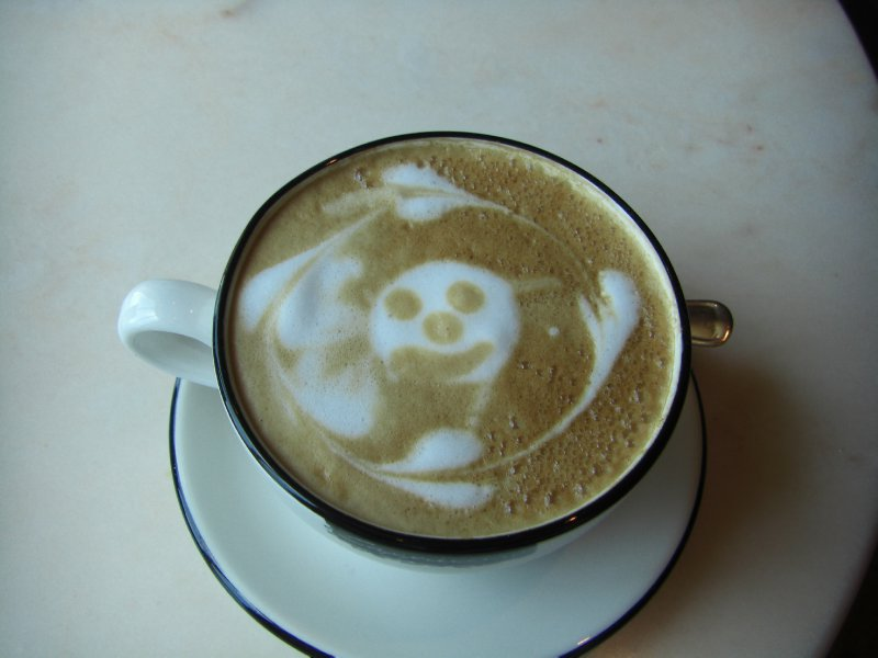 A welcome cappucchino