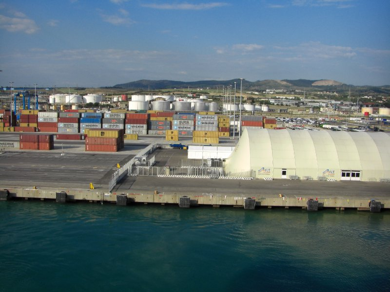 The Scenic Port of Civitavecchia