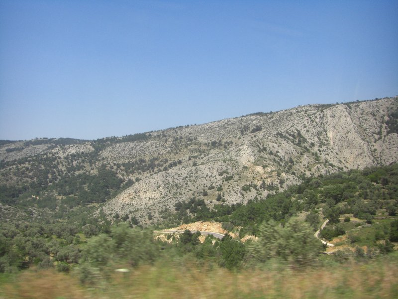 The Chios countryside