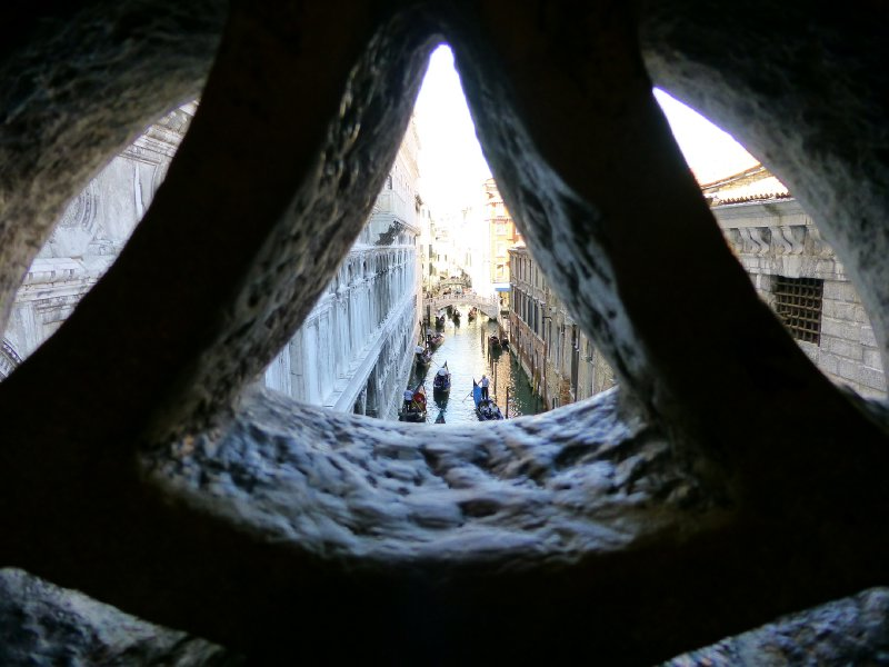 Crossing the Bridge of Sighs