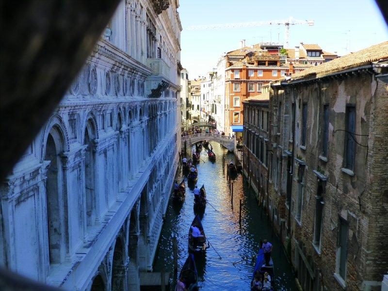 Last glimpse of Venice