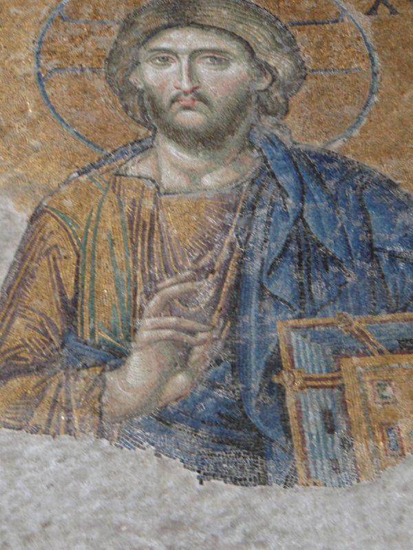 Detail of the precious mosaics