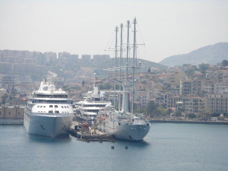 The port of Kusadasi