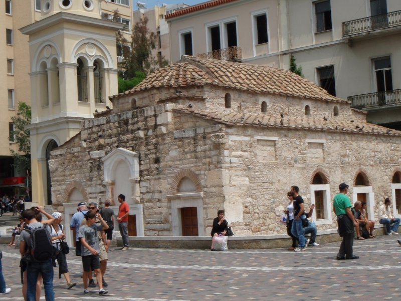 Church of the Virgin, Monastiraki Square