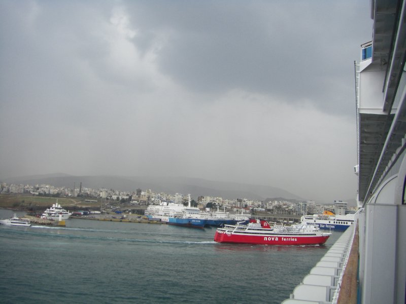 Terminal B at Piraeus Harbor