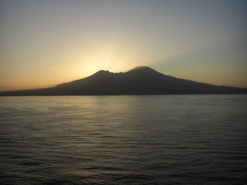 Sunrise over Vesuvius