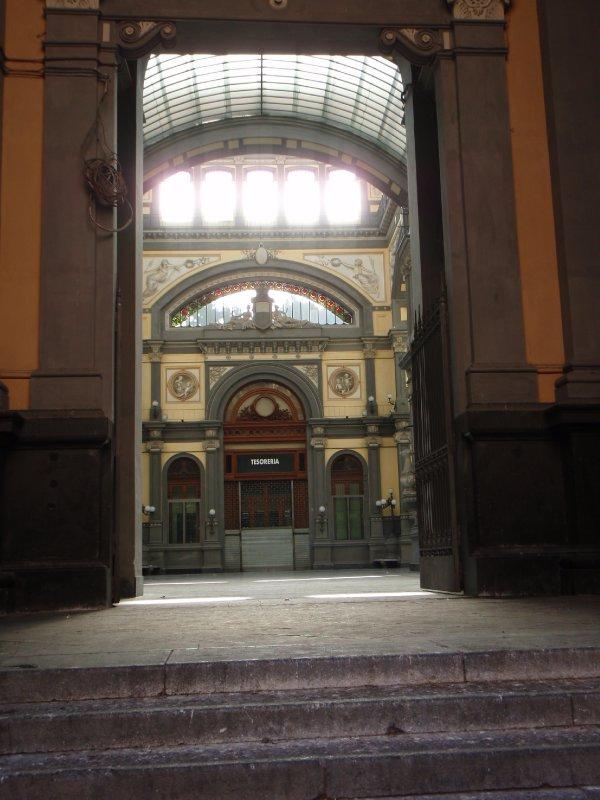 A Bank along Via San Giacomo