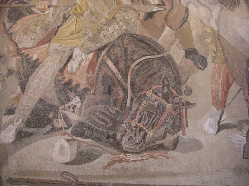 Detail of the Mosaic