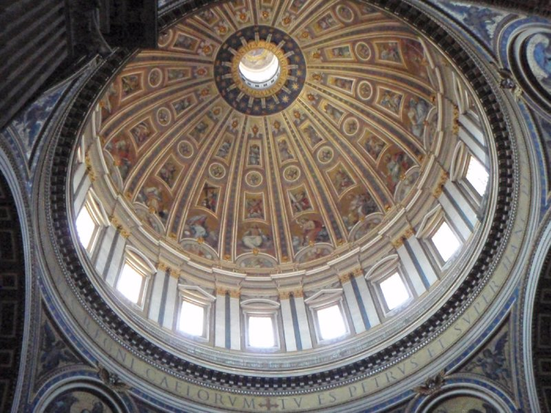 The Dome of St. Peter's